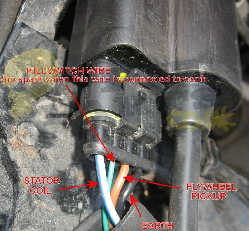 Stator Coil Wiring Diagram On Ignition Pickup Coil Wiring Diagram