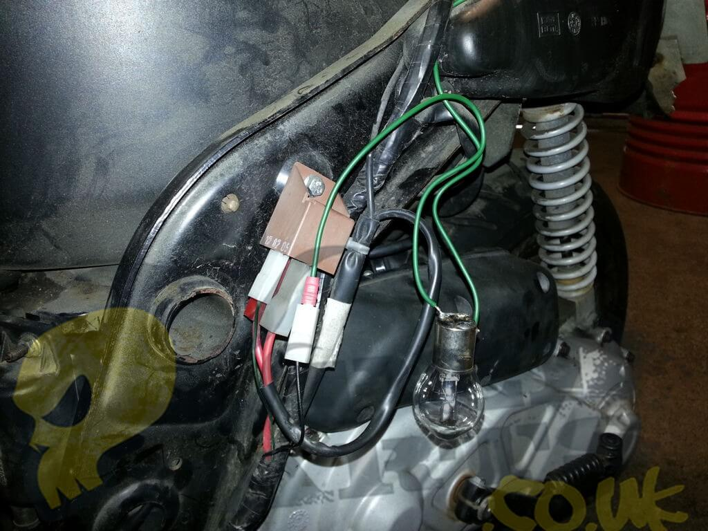 Piaggio Starter Motor Fault Finding Blog Pedparts Uk Evo Powerboard Wiring Diagram Relay