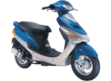 Chinese GY6 4-stroke 50cc