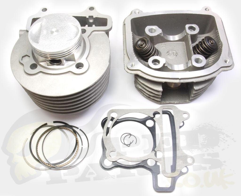 180cc Big Bore Cylinder Kit - Chinese 4-Stroke Mopeds
