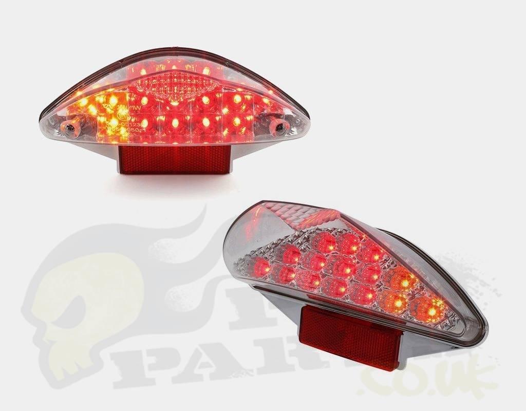 Aerox Rear Led Light With Built In Indicators Pedparts Uk Wiring Diagram Yamaha