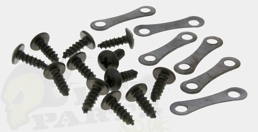 Body/ Fairing Panel Repair Kit - Screws & Tabs | Pedparts UK