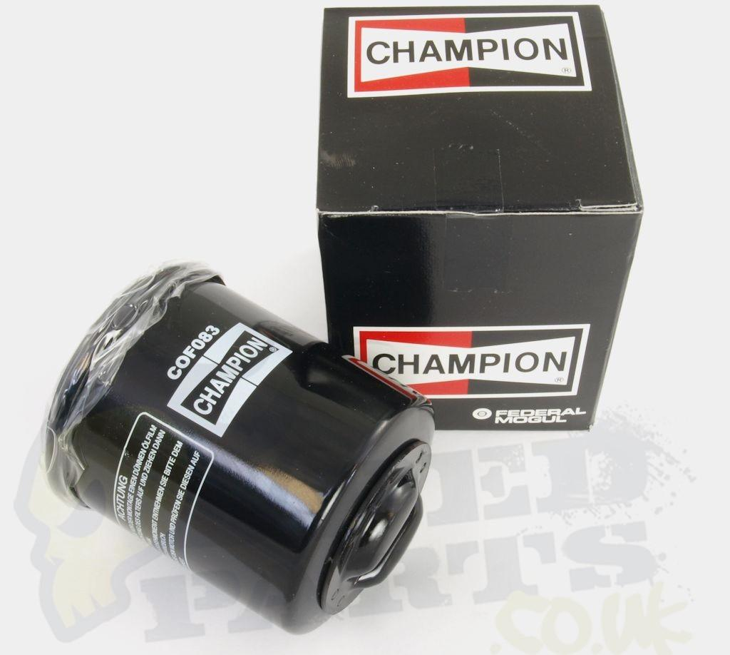 Kymco Agility 125 >> Champion Oil Filter - Piaggio/Vespa 125cc to 300cc | Pedparts UK