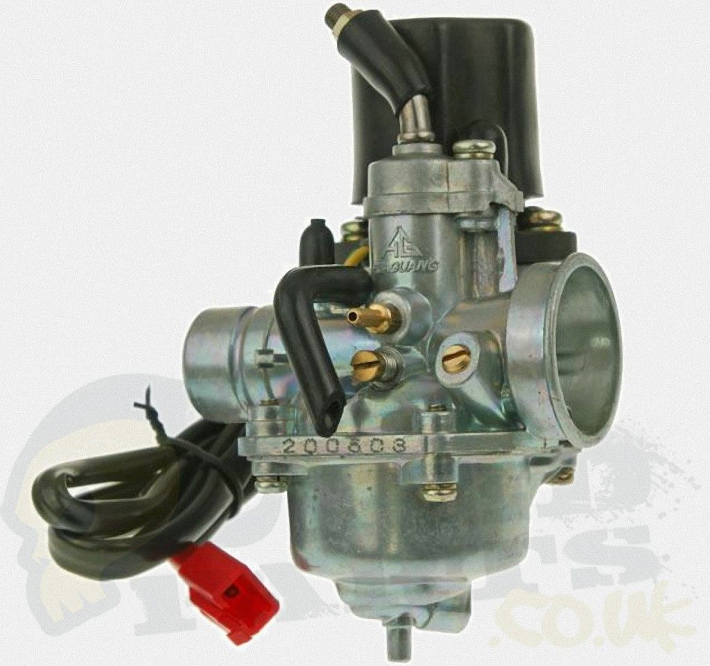 12mm 2-Stroke Moped Carb with Auto Choke