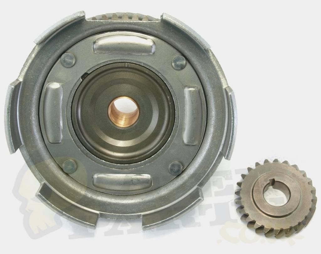 Clutch Basket & Gear- Vespa Smallframe/ PK