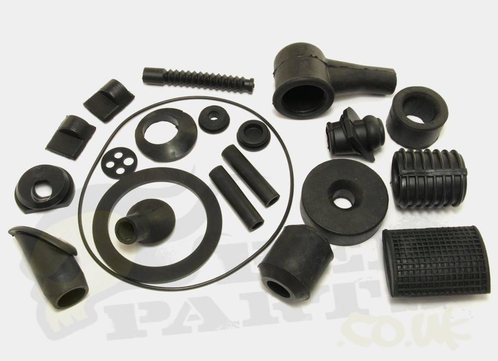 best online later size 40 Frame Rubber Kit - Vespa PX 125/200