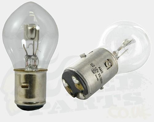 Headlight Bulb Ba20d Uprated Halogen Pedparts Uk