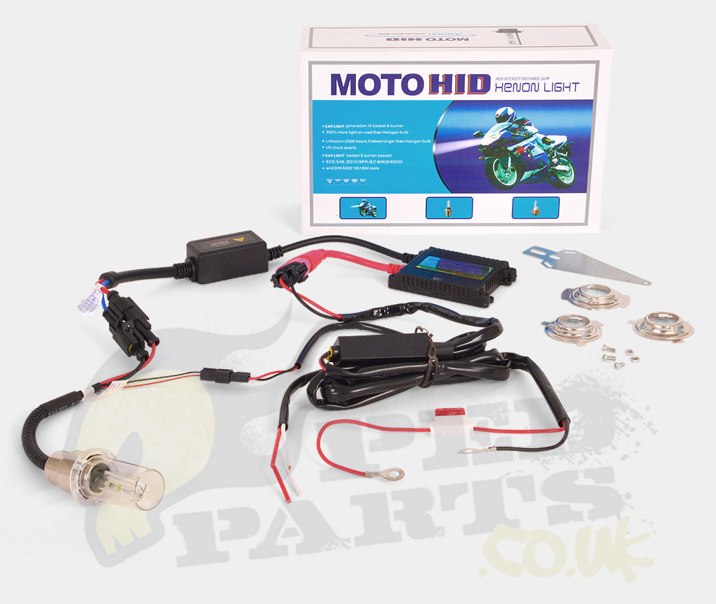 High Power Xenon HID Headlight Kit- H4/HS1 | Pedparts UK