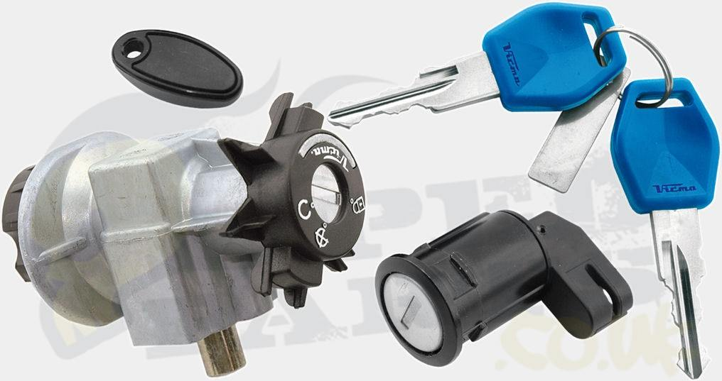 Ignition Lock Set - Peugeot Jetforce