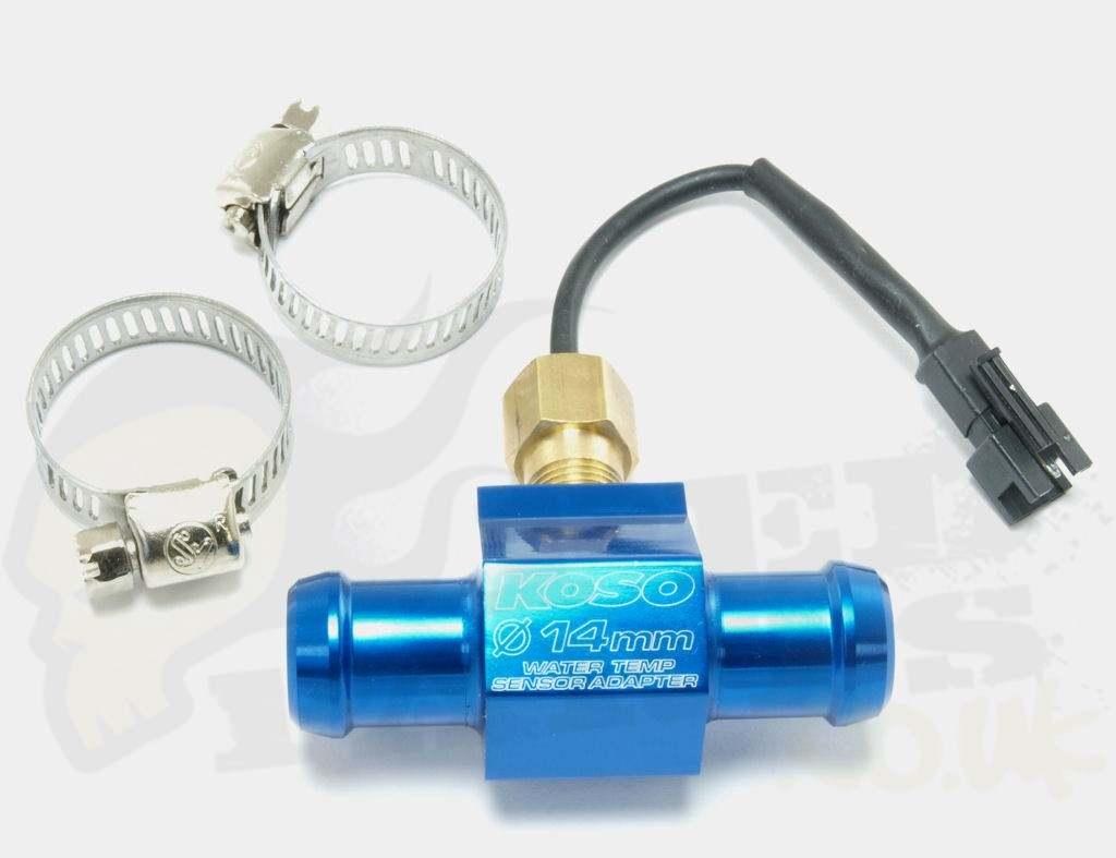 Inline Temp Sensor : Koso inline temperature sensor pedparts uk