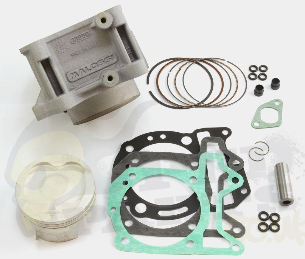 Cylinder Head For Cylinder Piaggio Liquid Cooled: Malossi 218cc Cylinder Kit