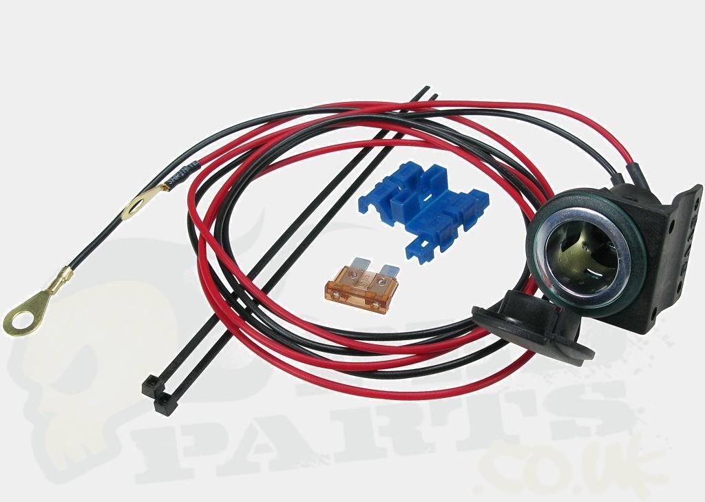 12v Cigarette Lighter Power Socket Kit Pedparts Uk