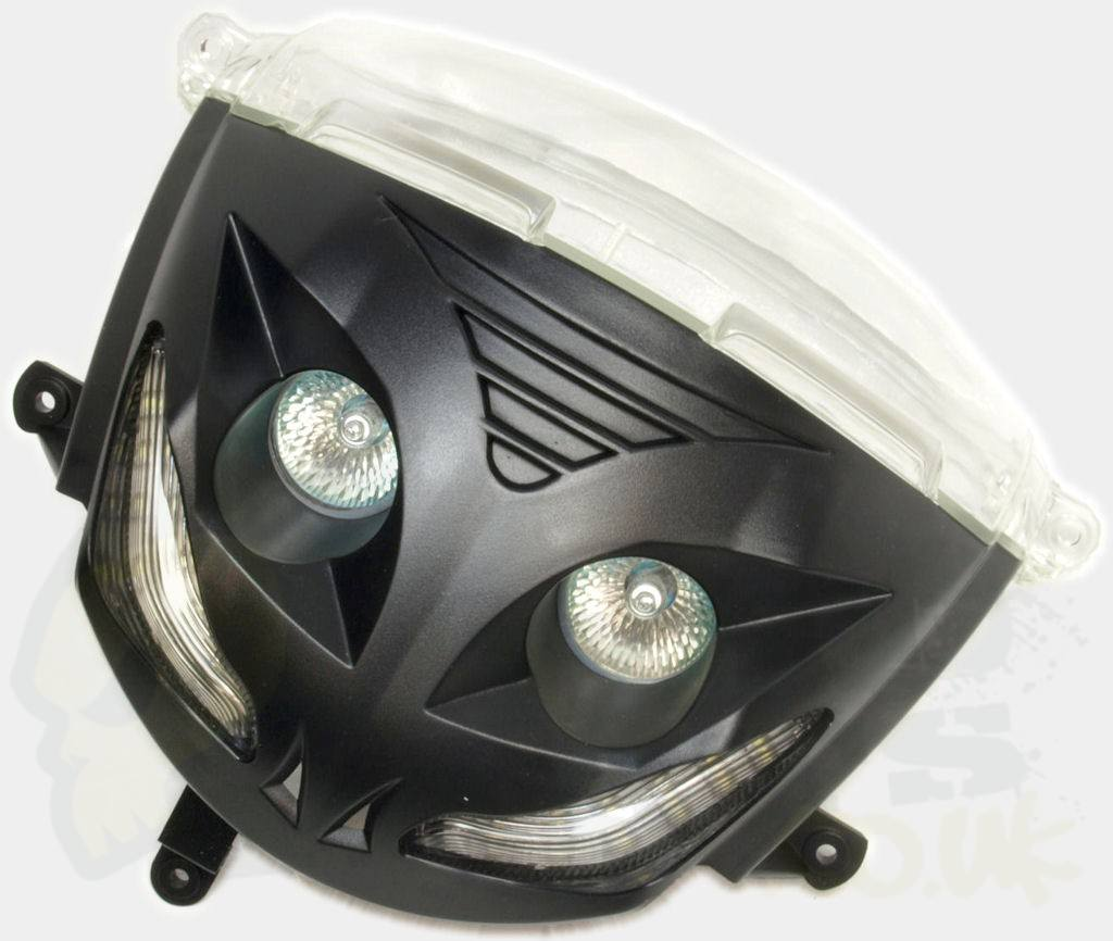 Piaggio Zip Audi Style Headlight Pedparts Uk