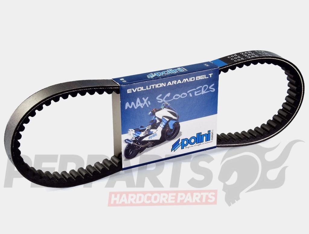 Polini Drive Belt Peugeot Speedfight 100cc Pedparts Uk Timing