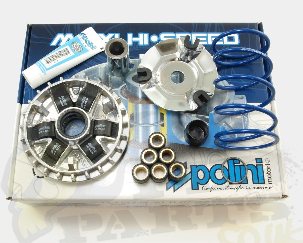 polini hi speed variator kit piaggio vespa 125cc 4t pedparts uk. Black Bedroom Furniture Sets. Home Design Ideas