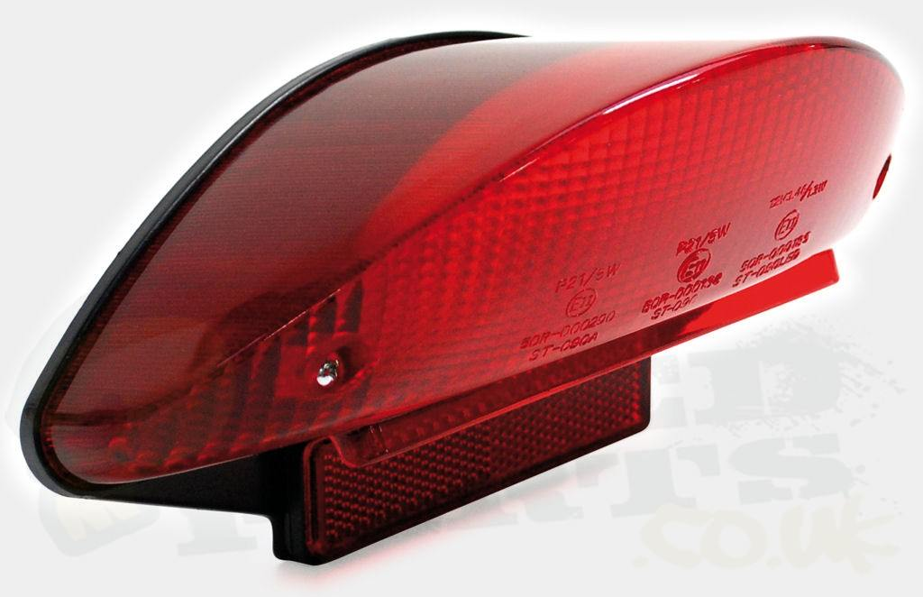 Exceptional Red Rear Tail Light   Yamaha Aerox Images
