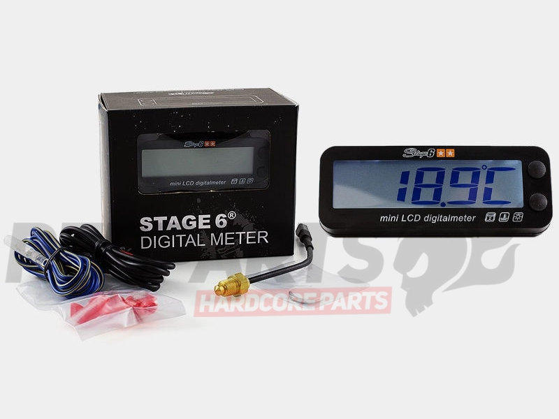 Stage6 Mkii Rev Counter  U0026 Temp Gauge Clocks