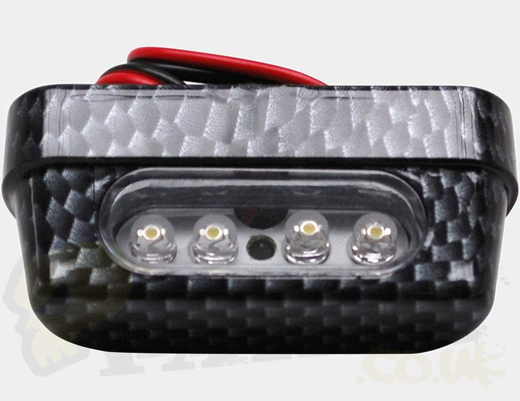 Universal Led Number Plate Light Small Pedparts Uk
