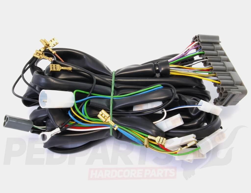 Wiring Loom Harness Vespa Px Pedparts Uk Electrical