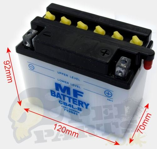 moped battery 12v scooter batteries pedparts uk. Black Bedroom Furniture Sets. Home Design Ideas