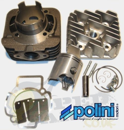 polini sport 70cc cylinder kit piaggio air cooled pedparts uk. Black Bedroom Furniture Sets. Home Design Ideas