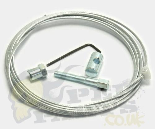 Cable Repair Kit : Rear brake cable repair kit universal pedparts uk