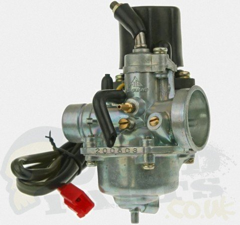 12mm 2 Stroke Moped Carb With Auto Choke Pedparts Uk