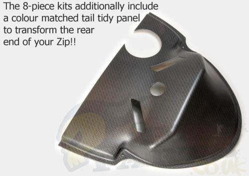 piaggio zip sp body panels kit   pedparts uk