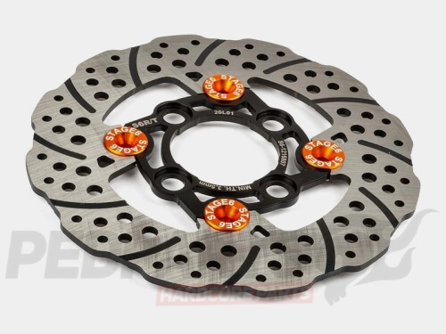 Stage6 R/T Floating Front Brake Disc- Yamaha BWS