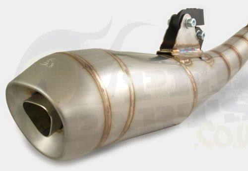 Stainless Steel Exhaust - Aerox/ Jog 50cc