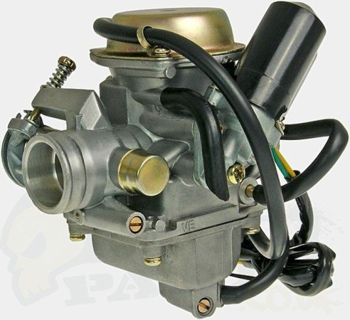125cc Standard Carb 24mm GY6   Pedparts UK