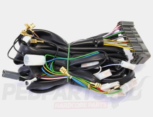 Piaggio Wiring Harness - Wiring Diagram All on vespa sprint, vespa gts 125, vespa lx50, vespa p200e, vespa t5, vespa super, vespa px150,