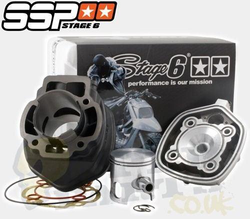 stage6 streetrace 70cc cylinder kit - piaggio l/c | pedparts uk