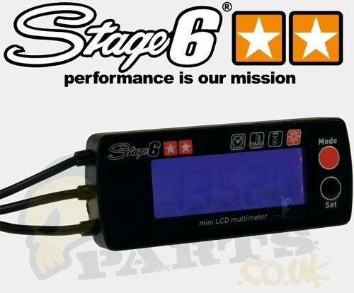 Stage6 Rev Counter  U0026 Temp Gauge Clocks