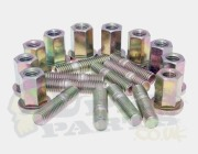 10 Piece M8 Exhaust Stud And Bolt Trade Pack