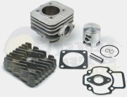 Airsal T6 70cc Racing Cylinder Kit - Piaggio A/C