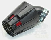 Covered Race Air Filter 28mm-36mm- Black