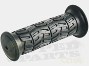 Black Rubber Grips- Universal