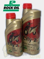 City 2 Plus Full Synthetic 2 Stroke- Rock Oil