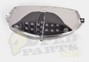 Clear LED Rear Light Unit (Black) Peugeot Speedfight 2