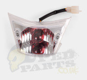 Clear Rear Light Tail Unit - Paiggio Zip