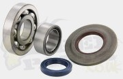 Crank Bearings & Metal Seals - Vespa PX