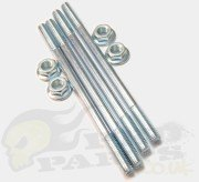 Cylinder Studs and Nuts Set - Piaggio 50cc