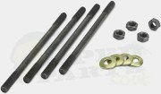 Cylinder Studs/ Bolts Kit - Minarelli Vertical Engine