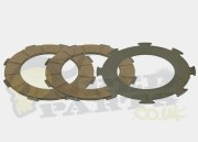 Ferodo Clutch Friction Plates- Vespa P200E
