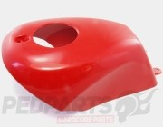 Fuel Tank Cover Red - Polini Minimoto
