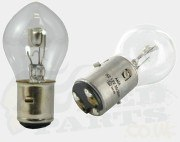 Headlight Bulb BA20D-inc. Uprated/Halogen