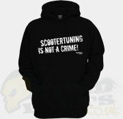 Hoody - Scootertuning is not a Crime