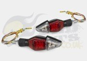 Indicators with Side/Brake Lights - LED Universal