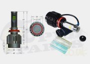 LED Headlight Bulb - H8,9,11 White 6000K 30W